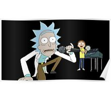 Musical Rick and Morty Poster