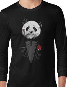 D panda godfather Long Sleeve T-Shirt