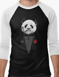 D panda godfather Men's Baseball ¾ T-Shirt