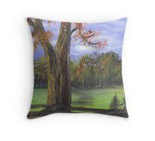 The warmth of Autumn Colours Throw Pillow