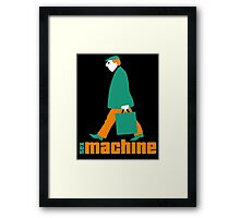 sexmachine - orange & green - style no.1 Framed Print