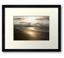 THE BEACH III Framed Print