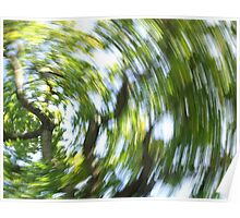Treetops, Westonbirt Arboretum Poster