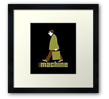 sexmachine - chocolate & lime - style no.2 Framed Print