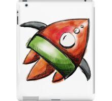 rocket ship iPad Case/Skin