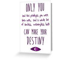 Destiny 2  Greeting Card