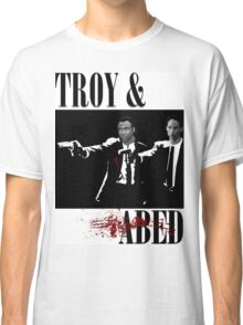 Troy & Abed (Pulp Fiction Style) Classic T-Shirt