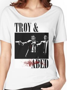 Troy & Abed (Pulp Fiction Style) Women's Relaxed Fit T-Shirt