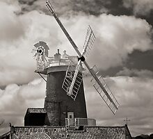 Cley Windmill by Robert  Geldard