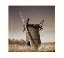 Brograve Mill Art Print