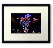 Oxford Greeting Framed Print