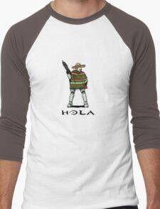Hola Men's Baseball ¾ T-Shirt