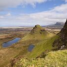 The Quiraing, Isle of Skye by Claire Tennant
