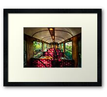 Elegance Past Framed Print