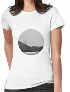 San Francisco Love Womens Fitted T-Shirt