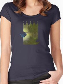 The Emperor and the Nightingale Women's Fitted Scoop T-Shirt