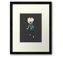 Pixel Clicker Framed Print