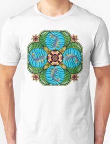 Japanese Carp Mandala T-Shirt