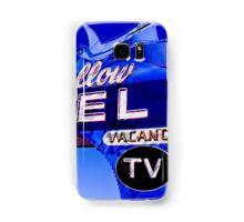 Blue Swallow Motel Neon Sign Samsung Galaxy Case/Skin