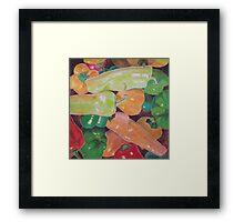 """""""Summer peppers"""" Framed Print"""