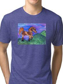 Painted Pony Tri-blend T-Shirt