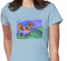 Painted Pony Womens Fitted T-Shirt