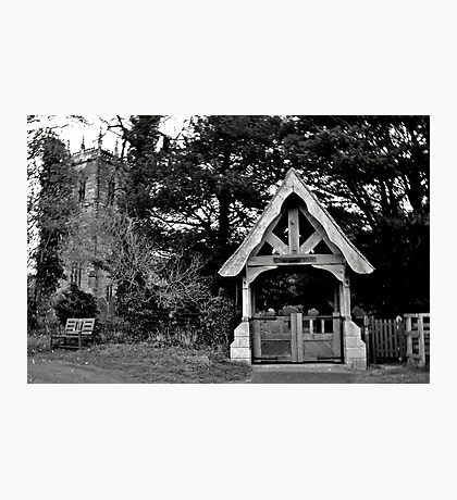 Historical church and main gate Photographic Print