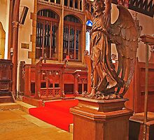St Peter and St Paul Church, Seal - Lectern by Dave Godden
