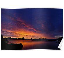 SE Alaska Sunrise Poster