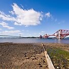 The Forth Bridges by Claire Tennant