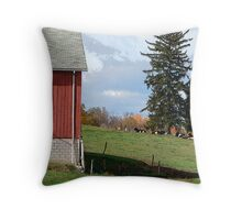 The Perfect Country Scene Throw Pillow