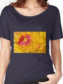 Yellow Dahlia Women's Relaxed Fit T-Shirt