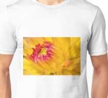 Yellow Dahlia Unisex T-Shirt