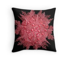 Spaghetti Worms and Meatballs  Throw Pillow