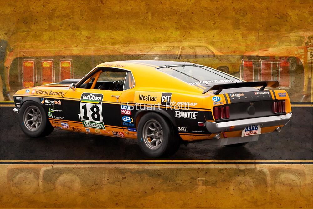 John Bowe Mustang 2 by Stuart Row