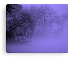 Mystery in the Myst Canvas Print