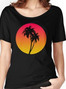 MASTER OF THE MIAMI SUNSET Women's Relaxed Fit T-Shirt