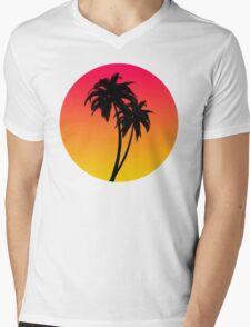 MASTER OF THE MIAMI SUNSET Mens V-Neck T-Shirt