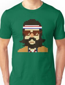 First Hipster - Awesome 8 bit design Unisex T-Shirt
