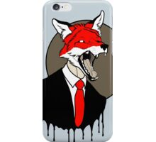 Sly Old Fox iPhone Case/Skin