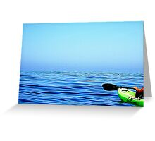 Serenity on the Ocean Greeting Card