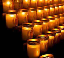 Notre Dame de Paris, Candles by Skye Hohmann