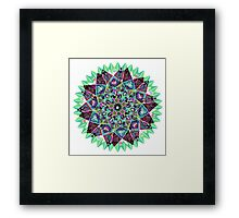Chandra Moon Framed Print