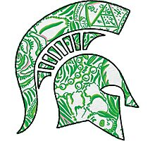 Kappa Delta Lilly Spartan Photographic Print