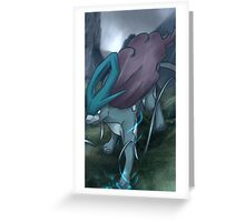 スイクン | Suicune Greeting Card