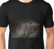 Black Bird Fly Unisex T-Shirt