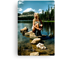 The Beauty of Mirror Lake Canvas Print