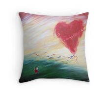 Keep hold or your love Throw Pillow