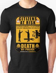 PROTEST ART: Citizens At Risk by tweek9arts.com T-Shirt