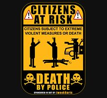 PROTEST ART: Citizens At Risk by tweek9arts.com Unisex T-Shirt